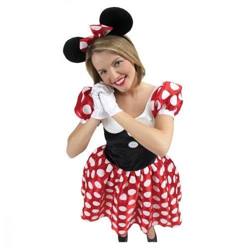 Disfraz de Minnie Mouse para mujer - Comprar online al mejor precio