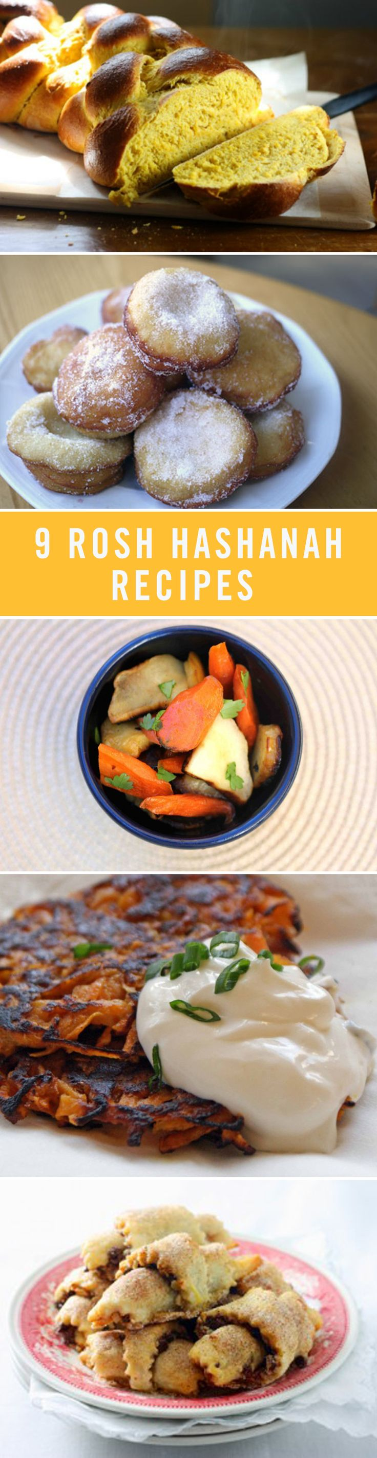 Kick off the holiday season with these cozy recipes for Rosh Hashanah. Add delightful treats like honey cake, pumpkin challah, and sweet potato latkes to your holiday menu this year!