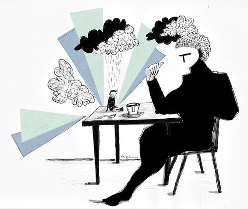 Have a Coffee. #Coffee #illustration #FedericaTeti #Caffè #Tazzine