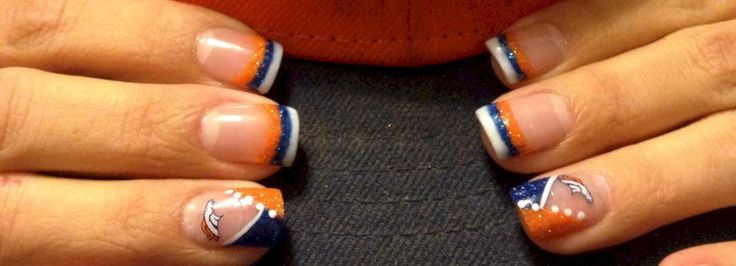 Seahawks nails design ideas featured