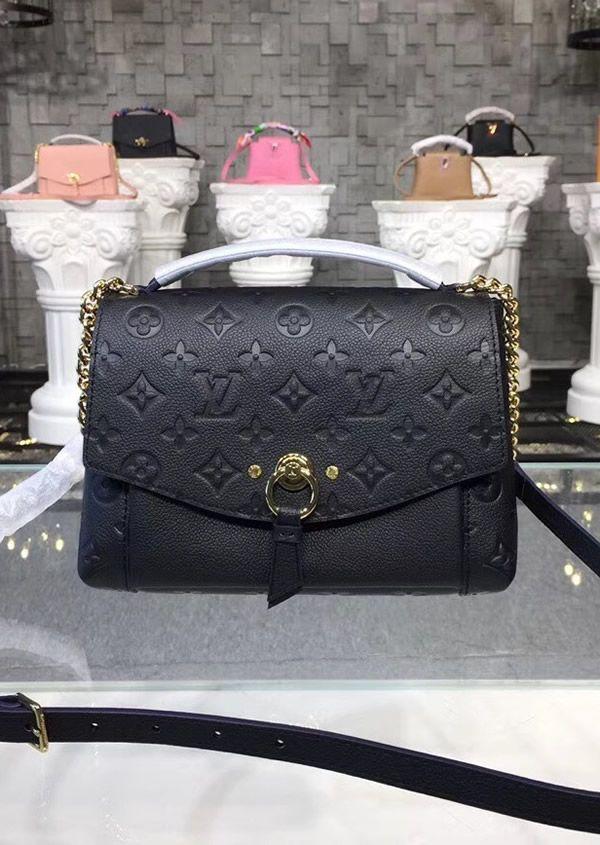 1330abc6ec Louis Vuitton Monogram Empreinte Blanche BB Noir M43624 | Gift in ...