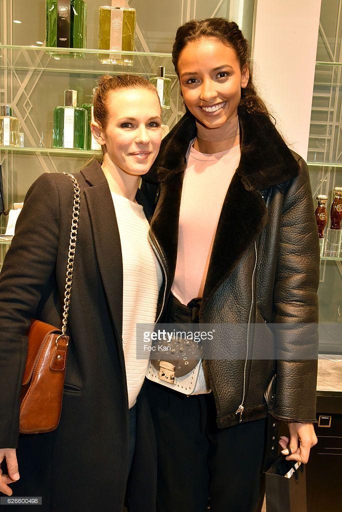 Photo d'actualité : Lorie Pester and Miss Univers 2015 Flora Coquerel...