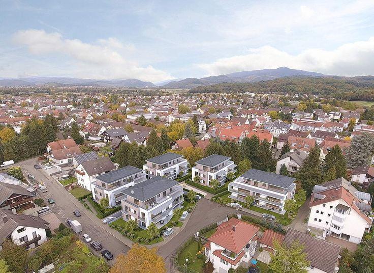 Superb Wohnungsbau Gundelfingen Fussg ngerperspektive Vogelperspektive Fotomontage D Visualisierung von LINKD Freiburg