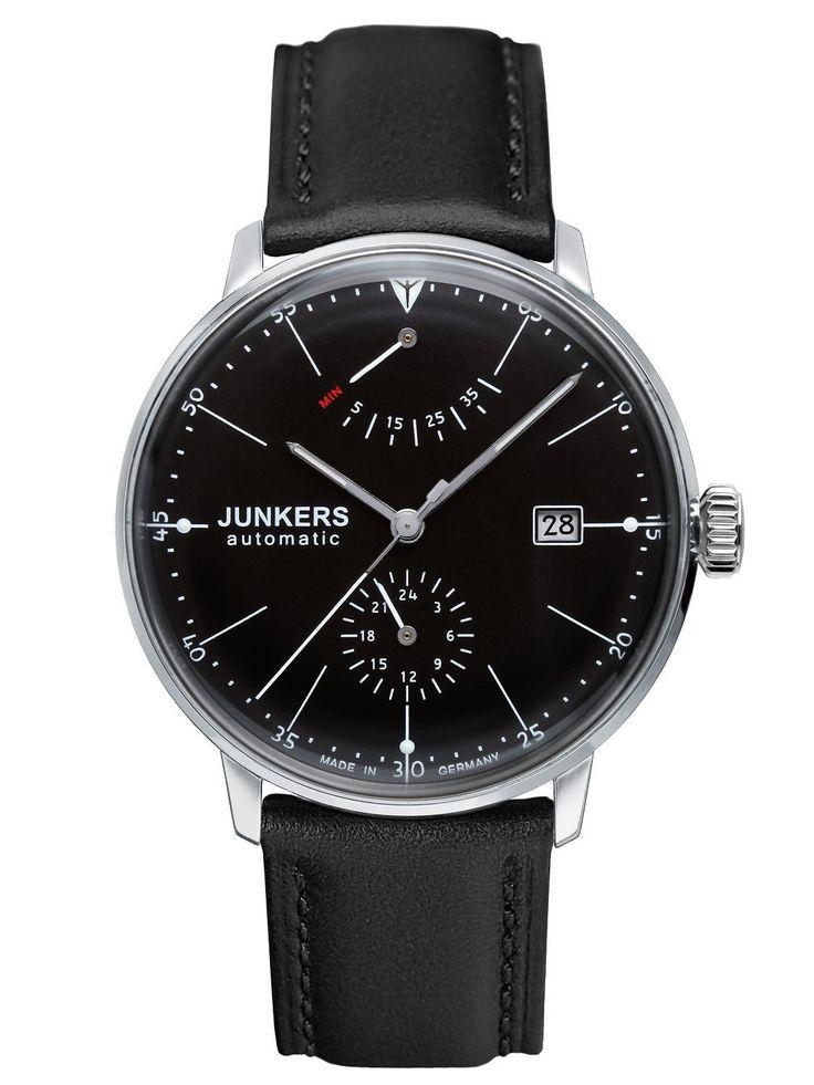JUNKERS Watch Bauhaus Men's Automatic Watch 6060-2 NIP | eBay