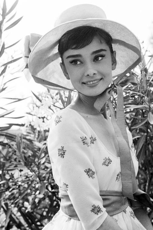 Audrey Hepburn in War and Peace, 1956.