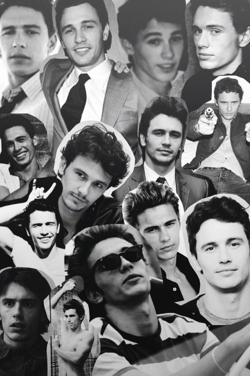 James Franco collage. Love.
