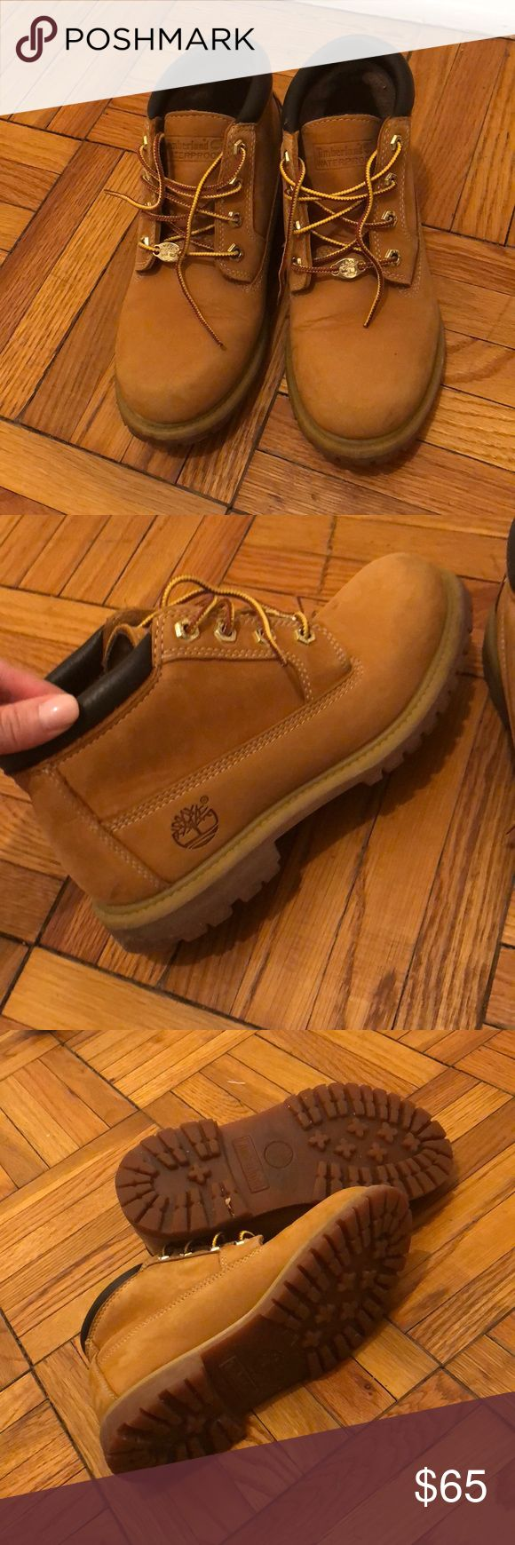 Timberland Nellie Waterproof Boots Gently used timberland ankle boots with minimal wear. Great for the snow! Timberland Shoes Winter & Rain Boots