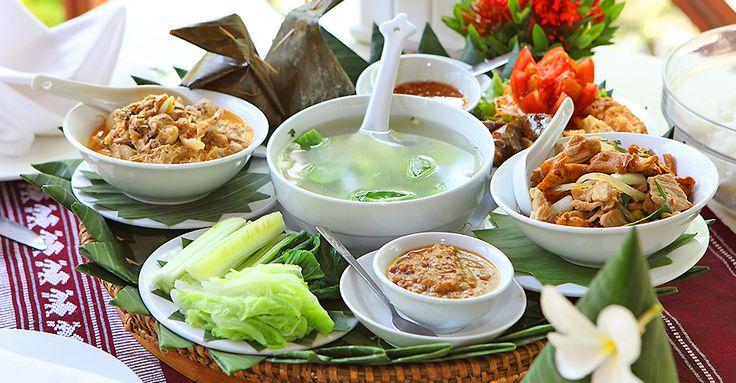 夕食:VILLA SANTI HOTEL ビラサンティホテル内レストラン(ラオス料理) http://www.toursystem.biz/tours/edit/212