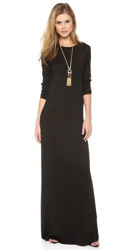 Rachel Zoe Vincent Skinny Jersey Maxi Dress | SHOPBOP