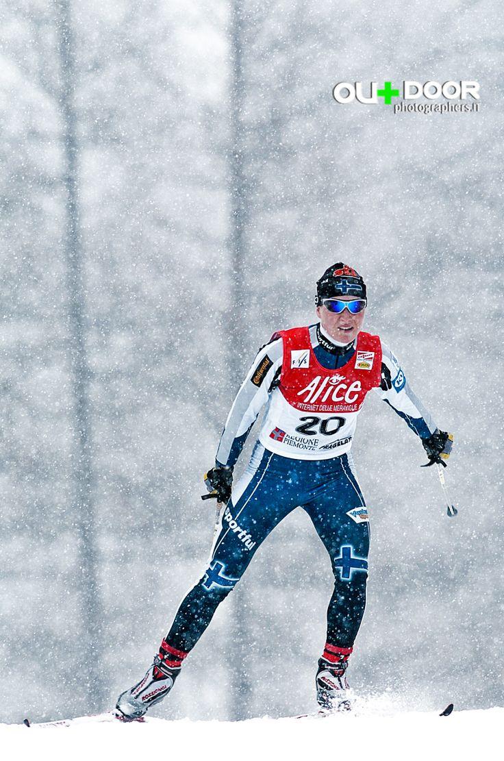 Fotografia Sportiva  invernale, Neve, Campionato del mondo FIS Sci fondo Piemonte Italia Pragelato