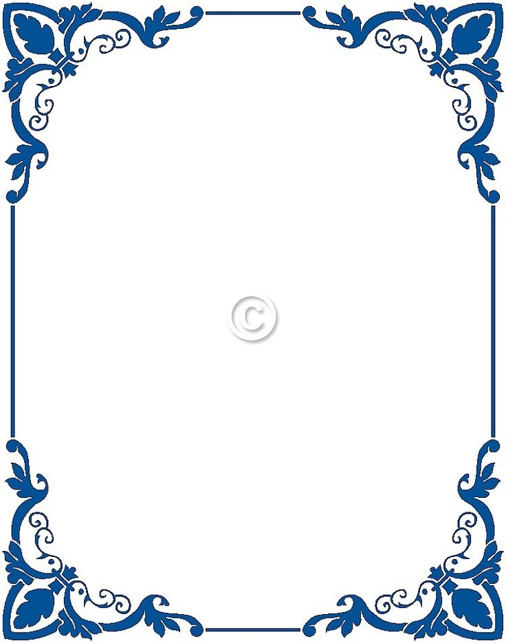 9 Best Borders Images On Pinterest Frames Moulding And Page Borders