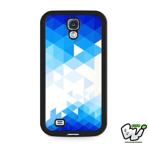 Blue Sky Geometric Samsung Galaxy S4 Case
