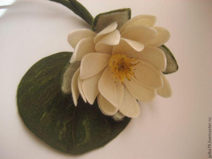 Купить Пояс Лилия - белый, цветочный, пояс лилия, водяная лилия, лилия, юлия валовая