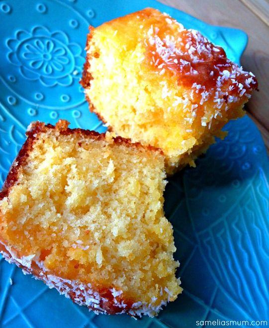 Passionfruit & Coconut Drizzle Cake 2