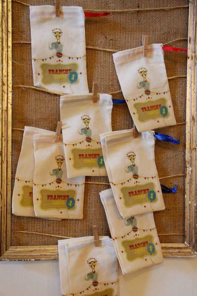 Bolsas de algodón para guardar recuerdos de fechas importantes.