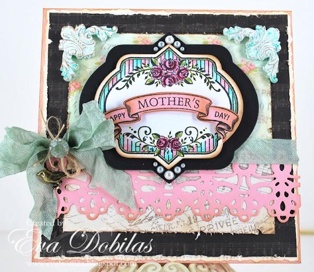 Mother's Day card designed by Eva Dobilas