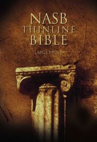 NASB Thinline Bible, Large Print: New American Standard Bible / Edition 1 by Zondervan Download