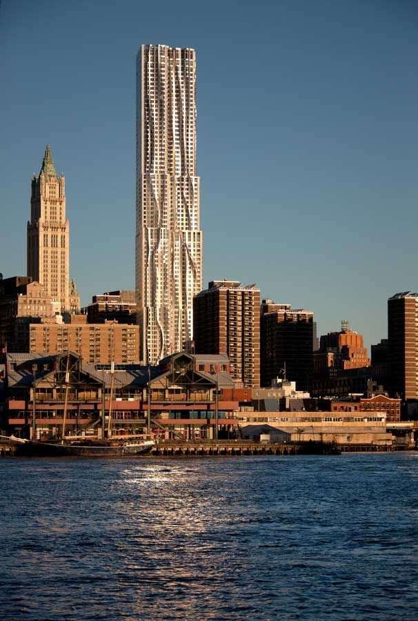 2011 Manhattan New York Trip: New York By Gehry Nyc News Rippling