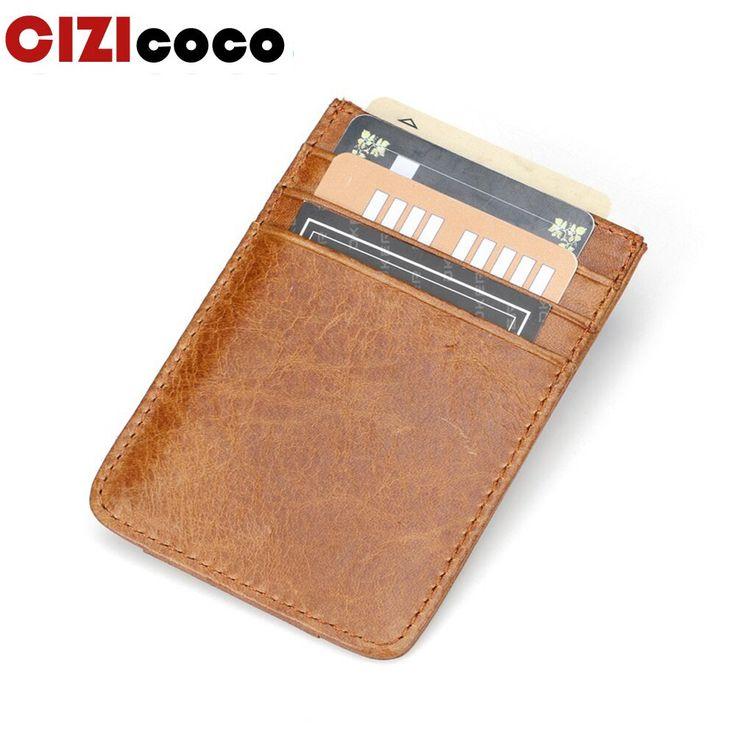 Cardholder wallet men credit holder card mini wallet