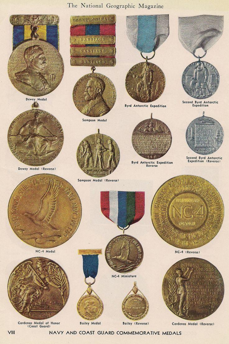 Navy & Coast Guard medals