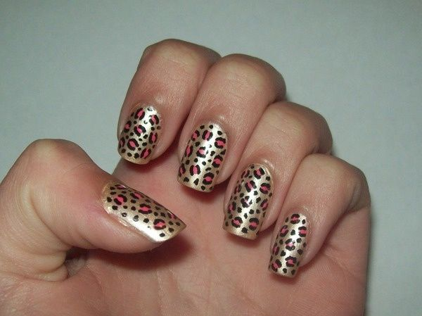 Leopard Nail Art, Beautiful!!