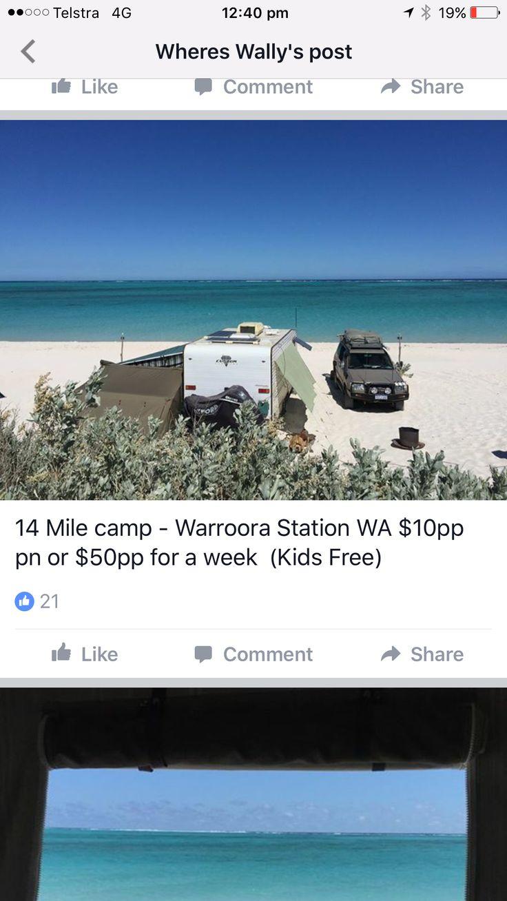 Warroora Station 14 Mile Camp WA Pet friendly