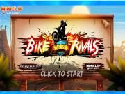 Bike Rivals is a riding game in which players must face up to a lot of racing tracks! The magnetic game is comprised of many different levels and each one is designed as a unique racing track full of gaps rocks rivers and other obstacles. Dare to overcome such the challenges? Show your true ability now!
