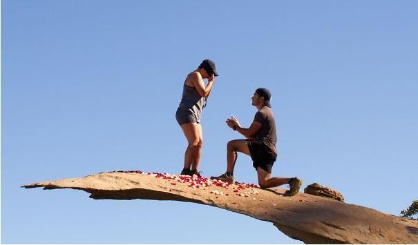 10 genialnych miejsc, w których możesz oświadczyć się swojej kobiecie. Każda z nas chciałaby takich zaręczyn!