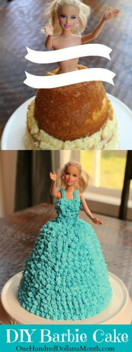 """The Girl's BFF turned 18 last week, and so we decided to make her a Barbie cake for the big day. {Can you believe it was her first one?} It was our way of helping her say goodbye to """"childhood""""–though, I have to admit, The Girl and her friends have been gracefully mature for so …"""