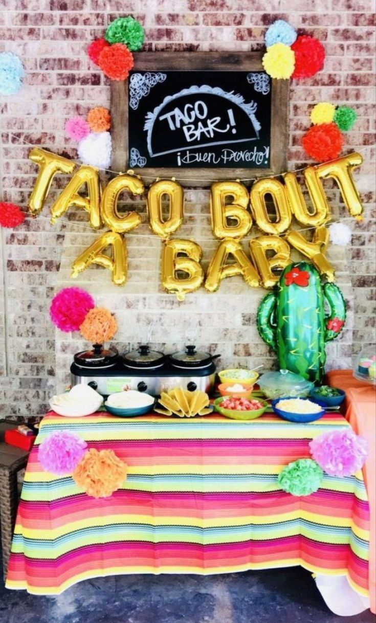 Baby Shower Theme Idea Idea Taco Bout A Baby Diy Darlin Taco Baby Shower Mexican Theme Baby Shower Baby Reveal Party