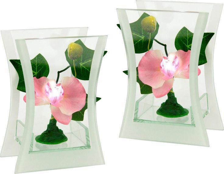 LED-Orchidee im Glas (2er Set) rosa, yourhome Jetzt bestellen unter: https://moebel.ladendirekt.de/kueche-und-esszimmer/besteck-und-geschirr/glaeser/?uid=8579dffc-5c91-5225-8b6c-9cc547713c75&utm_source=pinterest&utm_medium=pin&utm_campaign=boards #geschirr #kueche #glaeser #esszimmer #besteck