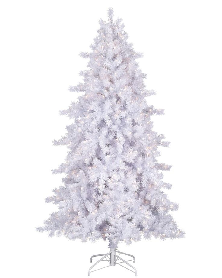 brimming with white needles accented by silver tinsel one glimpse of the glimmering white christmas tree conjures up images of crisp christmas mornings - White Christmas Trees For Sale