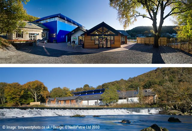 Backbarrow - new motor museum on the shores of the River Leven.