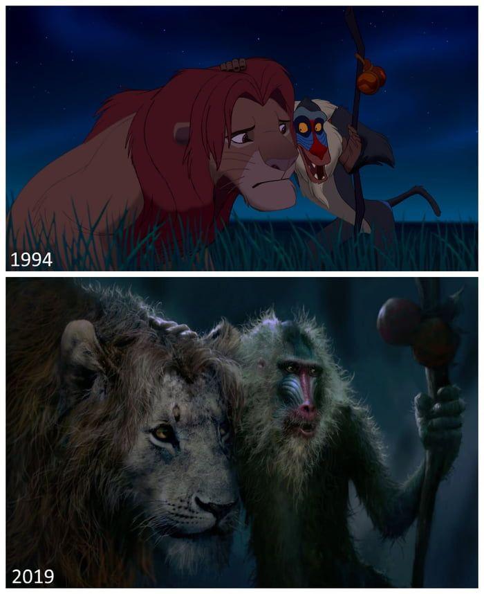 the lion king movie trailer comparison guide