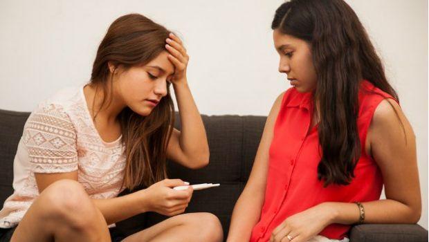 Pregancy over magazine aritcals teen