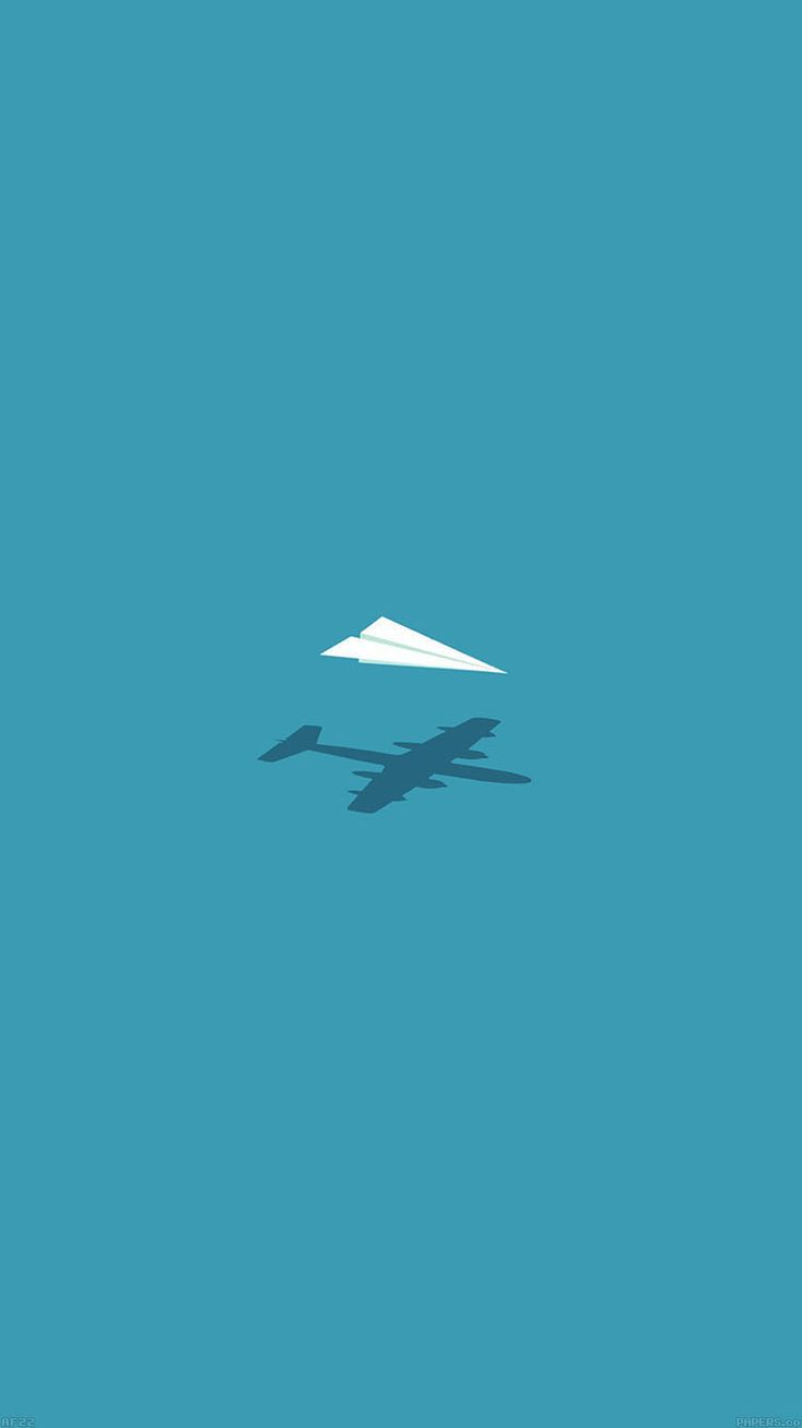 Get Wallpaper: http://goo.gl/Aoios5 af22-rc-plane-minimal-blue-art-illust-cute via http://iPhone6papers.com - Wallpapers for iPhone6 & plus