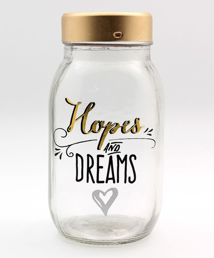 Another great find on #zulily! 'Hopes and Dreams' Mason Jar Bank by Young's #zulilyfinds