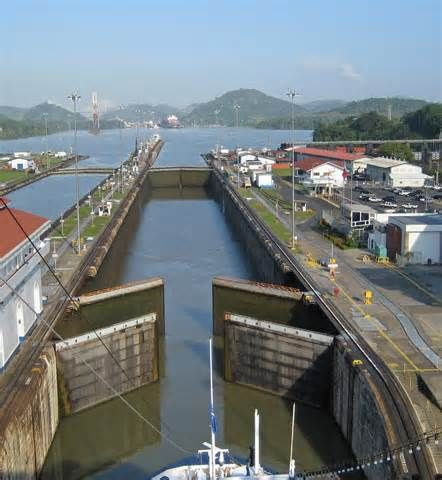 The gates at the #Miraflores #locks are the original gates that were in place in 1914 when the locks opened!  Panama Roadrunner offers private, exclusive trips to the canal.
