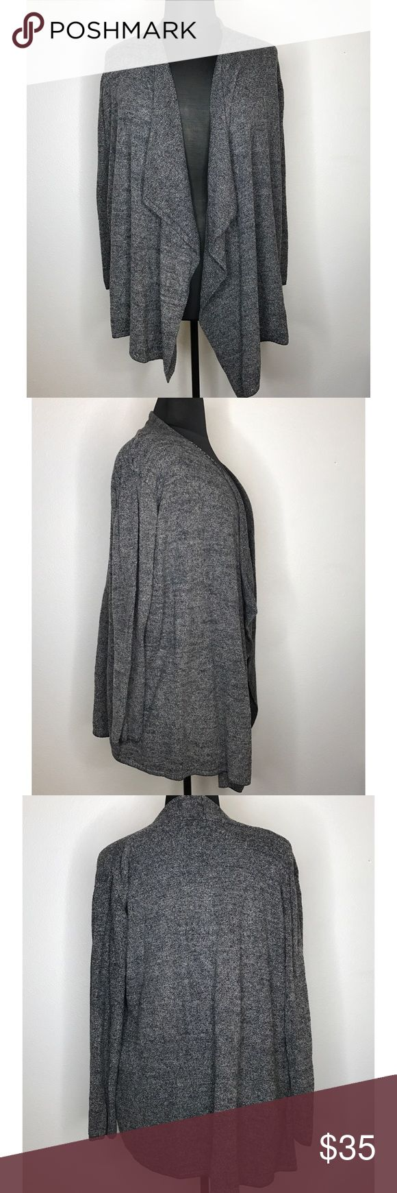 Plus Size Barefoot Dreams Cardigan Quite possibly the softest sweater ever! Barefoot Dreams Bamboo Chic Drape Front Cardigan. Nordstrom exclusive. Perfect for cold weather or just lounging at home. Barefoot Dreams Sweaters Cardigans