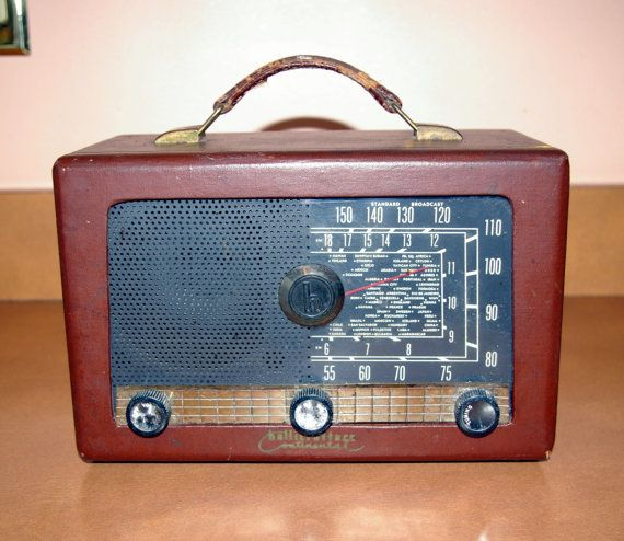 Antique Radio Hallicrafters Continental 5R 40 Weighs 6 Lbs  Short Wave  Production Year 1953. 17 Best images about My New 1940 s Arizona Bedroom Theme on