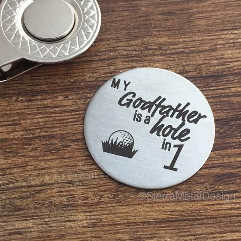 Godfather Golf Ball Marker