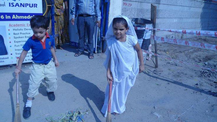 CPrS Navarangpura & Isanpur Center's Swachh Bharat Mission