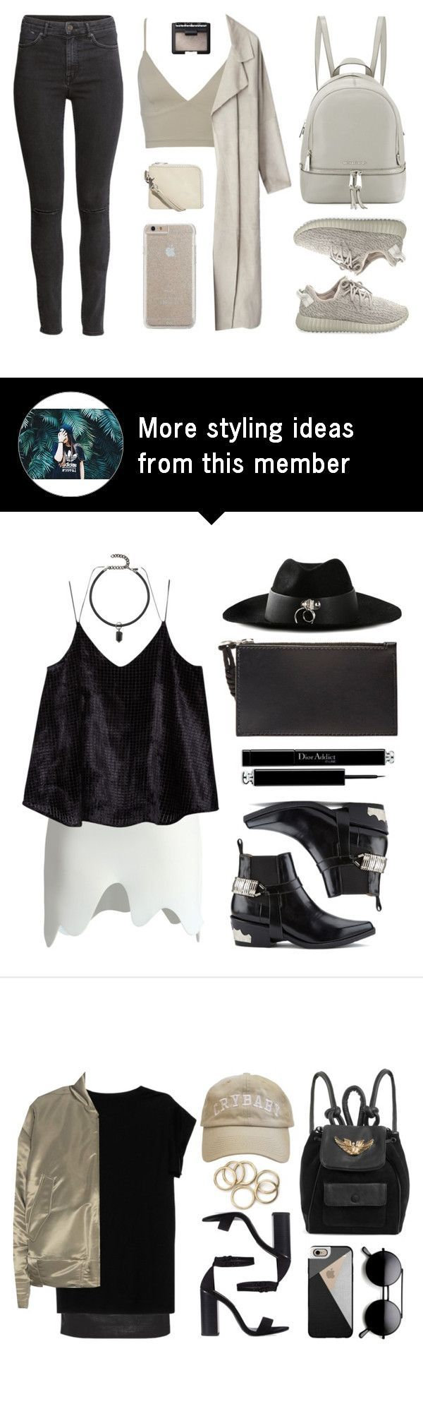 """Yeezy"" by baludna on Polyvore featuring adidas Originals, MICHAEL Michael Kors, H&M, Cheap Monday, Case-Mate and NARS Cosmetics"