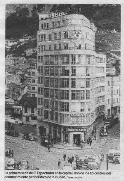Edificio del espectador av.Jimenez