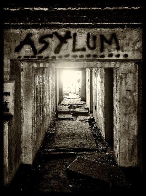 Seeking Asylum : the original meaning of asylum was a place of safety and protection...