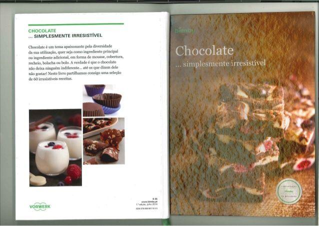 Livro Bimby - Chocolate