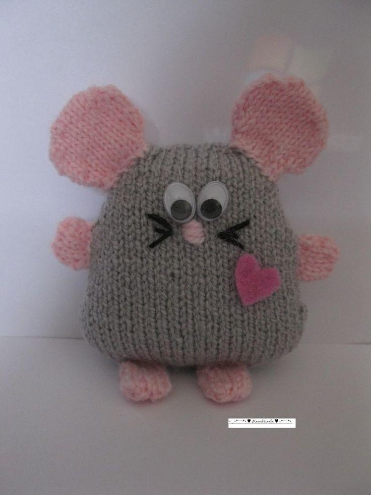 souris, tricot
