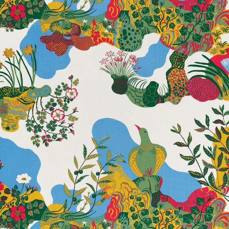 Fabric of life: Josef Frank's joyous textile designs – in pictures