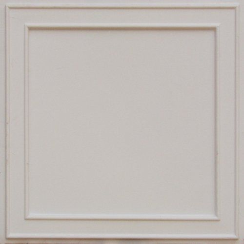 "Discount Cheap White Matt Plastic Ceiling Tiles Modern Plastic 24""x 24"" #207 with Overlaping Edges, Can Be Glue on Existing Grid Tile, Ul Rated!final Sale!!no Refand! by Ceiling Tiles by Us,faux white plastic ceiling, http://www.amazon.com/dp/B000OR8XD0/ref=cm_sw_r_pi_dp_vYYFqb1F3TNFE"