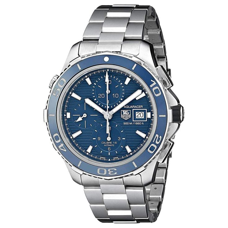 TAG HEUER AQUARACER AUTOMATIC SILVER MEN WATCH CAK2112.BA0833